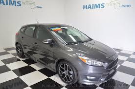2015 ford hatchback 2015 used ford focus 5dr hatchback se at haims motors serving fort