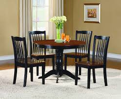 Tall Dining Room Sets Amazon Com Homelegance Andover Two Tone 5 Piece Counter Height