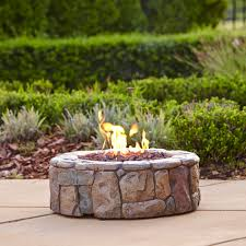 Clay Fire Pit Outdoor Fireplaces Chimeneas Kmart