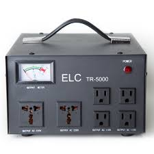 elc tr 5000 5000 watt voltage regulator with transformer step up