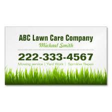 lawn care business cards 600 lawn care business card templates
