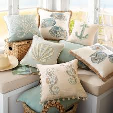 Pier One Peacock Pillow by Coral Woven Jute Trim Aqua Pillow Pier 1 Imports