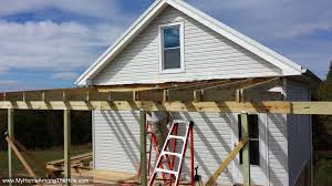 finally a porch roof u2026almost my home among the hills