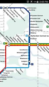 rotterdam netherlands metro map rotterdam metro map android apps on play