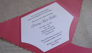 Handmade Baby Shower Invites - photo baby shower invitations for image