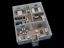 apartment design interior 2 bedroom 100 sqm floor plan home wall