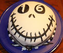 halloween cake idea easy jack skellington cake a simple round