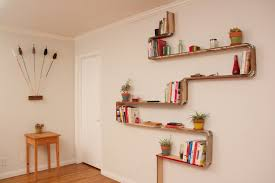 Wooden Wall Shelves Designs by Wall Shelves Design Plywood Wall Shelves For Modern Home