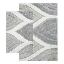 White Bathroom Rug Bathroom Size Plain Blue Bathroom Rug Sets In Three