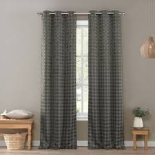 Black And Cream Damask Curtains Buy 96