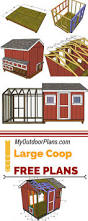 34 best images about free chicken coop plans on pinterest a