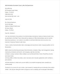 inspirational cover letter for administrative position with no