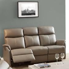 canapé cuir relax electrique 3 places canapé relax électrique 3 places cuir gris esos univers du salon