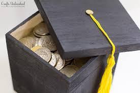graduation box diy graduation gift box tutorial crafts unleashed