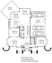 First Floor House Plan Chandler Neoclassic House Plan Luxury Home Blueprints
