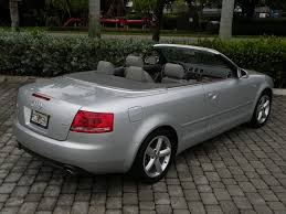 audi a4 2007 convertible 2007 audi a4 3 2 quattro fort myers florida for sale in fort myers