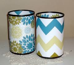 Floral Desk Accessories Chevron And Floral Desk Accessory Set In Steely Gray Blue And Gold
