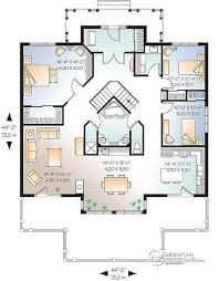 large floor plans house plan w3927 detail from drummondhouseplans com