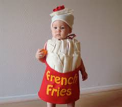 french fry costume baby costume toddler costume halloween costume
