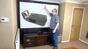 home theater projector 1080p assembling my hidden home cinema with the lg pf1000u minibeam