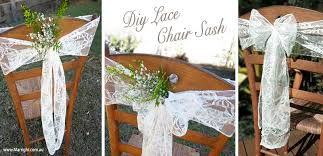 diy chair sashes index of images pew bows