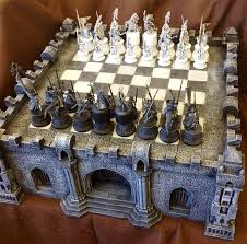 coolminiornot gothic chess set by ojoj