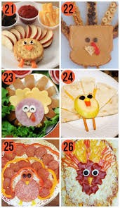 50 thanksgiving food ideas turkey treats food ideas