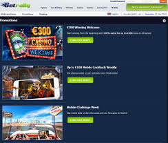 betrally casino review slots live games mobile friendly website