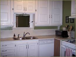 Kitchen Cabinets Trim by Adding Trim To Flat Panel Cabinet Doors Photo U2013 Home Furniture Ideas