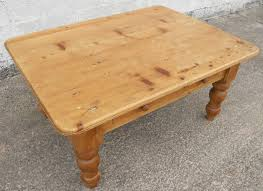 Pine Coffee Tables Uk Style Large Pine Rustic Style Coffee Table Sold