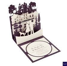 pop up wedding invitations pop up wedding invitation kiltanegaaclub