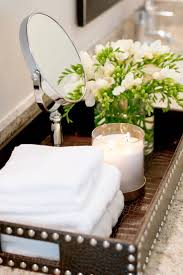 How To Decorate Your Bathroom by Best 25 Bathroom Tray Ideas On Pinterest Bathroom Sink Decor