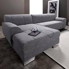 Canapé Fixe Confortable Design Au Canapé D Angle Convertible Méridienne Fixe à Droite Ou à Gauche En