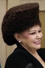 lady neck hair please respect valentina petrenko s enormous hairdo