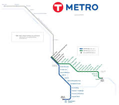 Green Line Metro Map by December 2015 Rail Now
