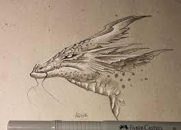 swamp dragon by alviaalcedo on deviantart