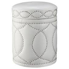 Tufted Ottoman Target by Tufted Storage Ottoman Bench With Nailhead Ivory Target