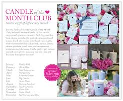 Gift Of The Month Ideas Candle Of The Month Club
