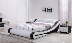 latest bedroom furniture designs solid wood single double king bed