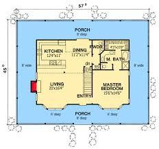 home floor plans wrap around porch