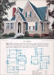 1920s floor plans 1920s modern english style house plan the dean 1928 home