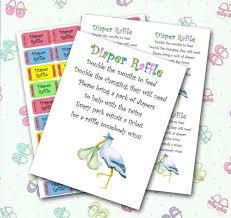 diaper baby shower invitation twin diaper raffle baby shower invitation insert and raffle