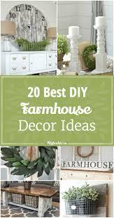 20 best diy farmhouse decor ideas tip junkie