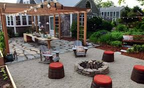 fire pit ideas cheap in ground landscaping outdoor living