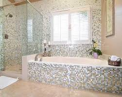 mosaic tile designs bathroom astounding design bathroom mosaic ideas white floor blue tile