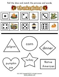 thanksgiving activities and worksheets for