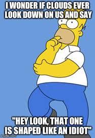 Homer Simpson Meme - homer simpson thinking imgflip
