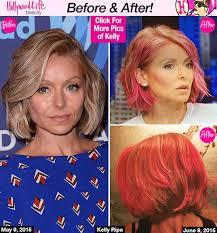 kelly ripper hair style now best 25 kelly ripa pink hair ideas on pinterest kelly ripa hair