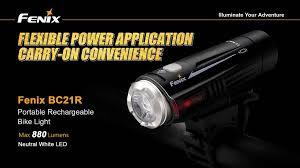Fenix Lights Fenix Bc21r Rechargeable Bike Light Fenix Tactical Led Flashlights
