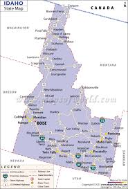Utah Cities Map by Idaho State Map